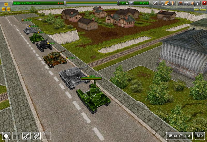 Секреты игры в танки онлайн